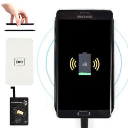 Qi Wireless Charger Charging Pad +Receiver Kit For Samsung G