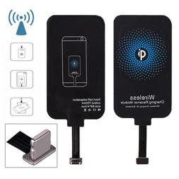 Qi Wireless Charger Charging Receiver Kit Pad Adapter For iP