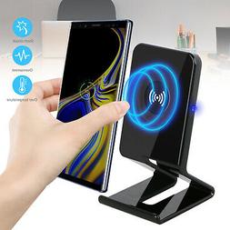 Qi Wireless Charger Charging Stand Dock Phone Holder for iPh
