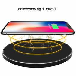 Qi Wireless Charger Dock Pad Fast Charging Receiver for iPho