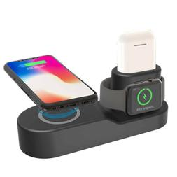 Qi Wireless Charger Fast Charging Station For Apple iWatch i