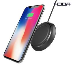 ROCK® Qi Wireless Charger For IPhone X 8 For Samsung Galaxy