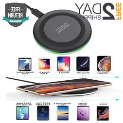 Yootech Qi Wireless Charger For Iphone Xs MAX/XR/XS/X/8 plus