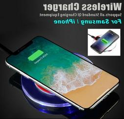 Qi Wireless Charger for Samsung Galaxy S8 S9 S10 Plus Note 9