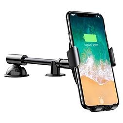 Baseus QI Wireless Charger Gravity Car Holder,Fast Wireless