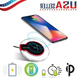 qi wireless charger pad charging iphone 11