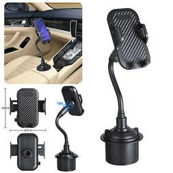 Qi Wireless Fast Charger Car CD Slot Mount Holder For iPhone