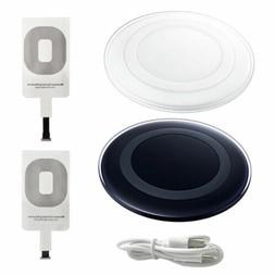 Qi Wireless Fast Charger Charging Pad Receiver For iPhone 6