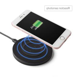 Qi Wireless Fast Charger Charging Stand Pad For Samsung S8 i