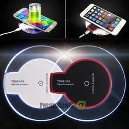 Qi Wireless Fast Charger Dock Charging Pad Receiver for Appl