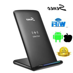 Seneo  Qi Wireless Fast Charger Stand For Samsung Galaxy S8