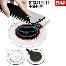 Qi Wireless Phone Charger Pad for iPhone 11 XS XR Samsung No