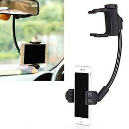 Premium Rear View Mirror Car Mount Holder Stand Dock Cradle