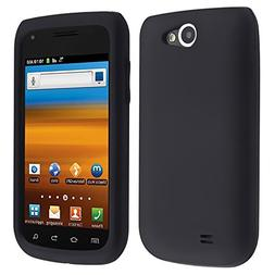 PREMIUM RUBBER BLACK SOFT GEL Phone Cover Sleeve Silicone SK
