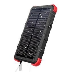 OUTXE 10000mAh Rugged Power Bank with Flashlight IP67 Water