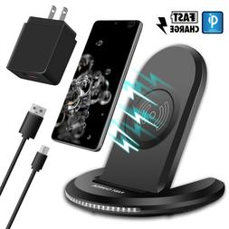 For Samsung Galaxy S10/S9/S8 Plus/Note 9 Qi Wireless Fast Ch