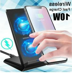 For Samsung Galaxy S20+ Plus Ultra Qi Wireless Fast Charger