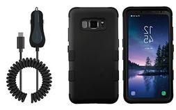 Samsung Galaxy S8 Active - Accessory Bundle: Heavy Duty  Rug
