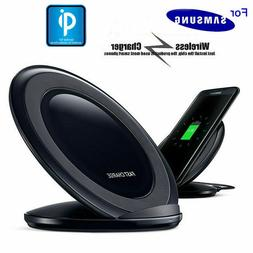 For Samsung Galaxy S8/S9 Plus Wireless Qi Fast Charger Charg