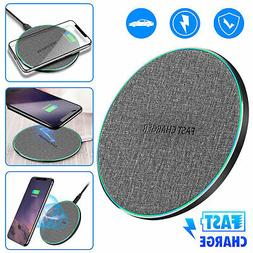 For Samsung Galaxy S8/ S9/ S10 Plus Wireless Qi Fast Charger