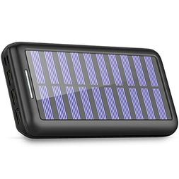 Solar Charger 24000mAh Portable Charger,PLOCHY Solar Power B