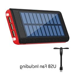 Ruipu Solar Charger 24000mAh Portable Charger Power Bank Bat