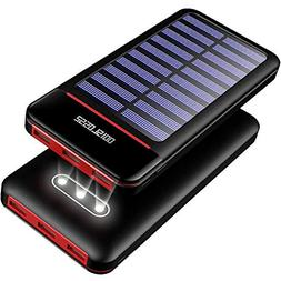 Solar Charger Power Bank 25000mAh Portable Charger Battery P