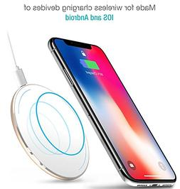 TOZO Apple iPhone X Wireless Charger,  Wireless Fast Chargin
