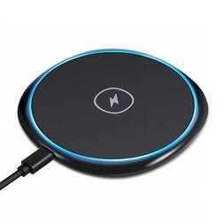 ULTRA SLIM WIRELESS CHARGER 7.5W AND 10W SUPPORT FAST CHARGI