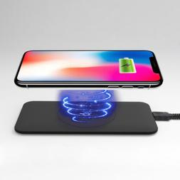 ultra slim wireless smartphone charger for qi