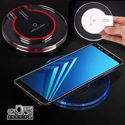 Universal QI Wireless Charger Charging Pad Dock For SAMAUNG