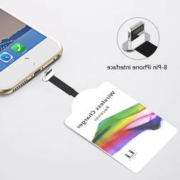 Universal*Qi Wireless Charger Charging Pad Mat Receiver For