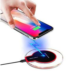 Universal QI wireless charger New Ultra-Thin Crystal K9 5W I