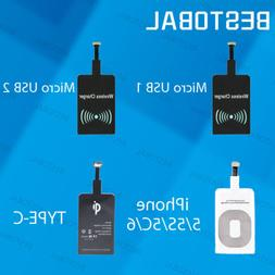 Universal Qi Wireless Charging Receiver USB Module for iPhon