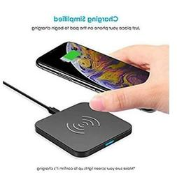 Choetech Universal Qi Wireless Fast Charging Charger Pad Doc