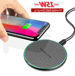 us 10w 15w qi wireless charger fast