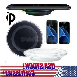 US Qi Wireless Charger Fast Charging Pad Circle Charging for