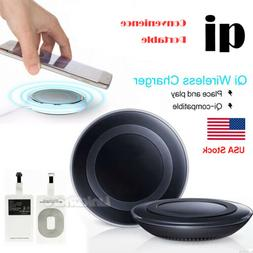 Qi Wireless Charging Pad Charger For iPhone X Samsung Galaxy