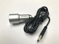 OMNIHIL USB Car Charger USB for 808 Audio HEX TLS Wireless S