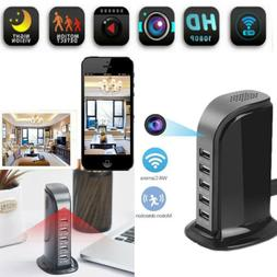 WIFI 1080P HD Wireless Hidden Camera Socket USB Charger mini