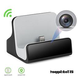 LIZVIE WiFi Mini Spy Camera Hidden Charger Cam with Motion D