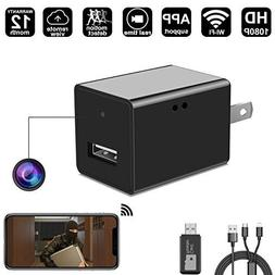 WIFI Spy Hidden Camera Wall Charger Camera By DigiHero - 108