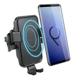 Wireless Car Charger, NOVETE Air Vent Phone Holder Gravity C