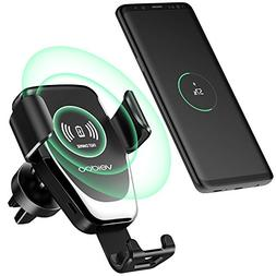 Wireless Car Charger, Veidoo Gravity Wireless Fast Charge Ca