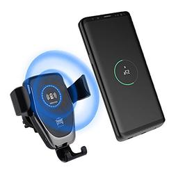 Wireless Car Charger, Car Phone Mount, Maluokasa Gravity Air