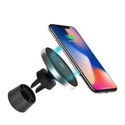 Magnetic Wireless Car Charger - for Apple iPhone X/8/8 Plus,