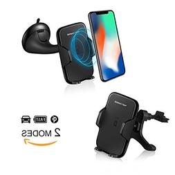 Wireless Car Charger with Fast Wireless Charging car