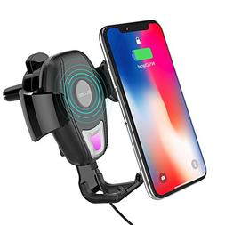 Wireless Car Mount Charger, OCUBE Air Vent Phone Car Holder