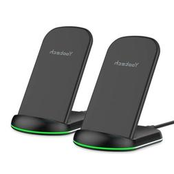 Yootech Wireless Charger, 10W Qi-Certified Charging Stand, 7