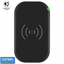 CHOETECH Wireless Charger 3 Coils Qi Fast Wireless Charging